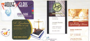 Full Color Jumbo Magnet Business Card Special